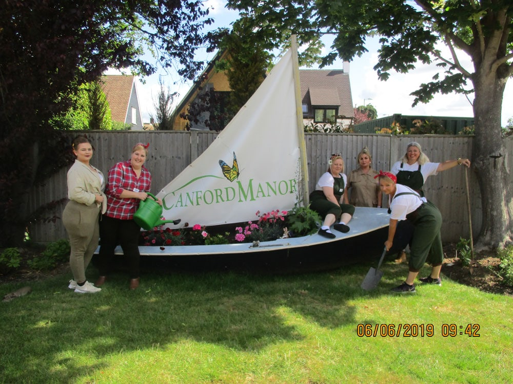 Canford Manor D-Day Celebrations